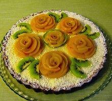 """Moliūginis pyragas su """"Panna cotta"""""""