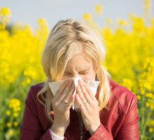 Dėl alergijos galima prarasti skonį ir uoslę