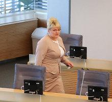 Algimanta Pabedinskienė: turėtų didėti viešojo sektoriaus darbuotojų algos