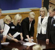 Estijos parlamentas ir trečią kartą neišrinko šalies prezidento