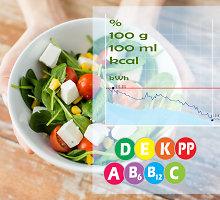 """""""Salotų anatomijos"""" autorius pateikė naujovę – internetinę kalorijų skaičiuoklę"""