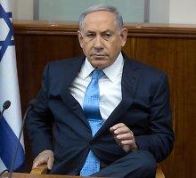 Izraelio premjeras Benjaminas Netanyahu atmetė prancūzų planą