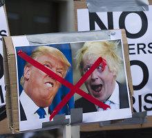 """Ką bendro turi Donaldas Trumpas ir """"Brexit"""" kampanijos lyderiai?"""