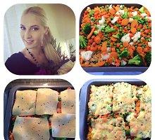 Sveikai besimaitinanti Kristina Ivanova dalijasi makaronų ir daržovių apkepo receptu