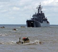 Rusijos gynybos ministras valo Baltijos flotilės vadovybę