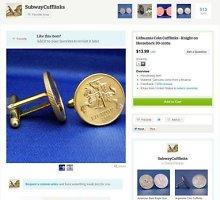 """Pinigus """"kala"""" iš pinigų: lietuviškos monetos tampa sąsagomis už 89 dolerius"""