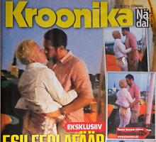 Estijos prezidento Toomo Hendriko Ilveso žmona nufilmuota kito vyro glėbyje