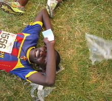 Nauja Kenijos bėgikų karta: basomis – į šviesų rytojų