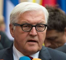 Vokietija skelbia pavojų dėl Ukrainos