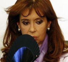 Argentinos lyderės paranoja: JAV siekia nuversti jos vyriausybę ir nužudyti