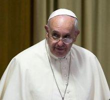 Popiežius Pranciškus: korupcijos negalima atleisti