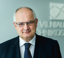 Rektorių konferencijos prezidentu išrinktas VGTU rektorius Alfonsas Daniūnas