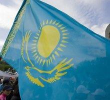 Nursultanas Nazarbajevas paragino kazachus ginti savo šalies nepriklausomybę ir vientisumą