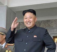 Šiaurės Korėjos lyderis vyks į Rusiją