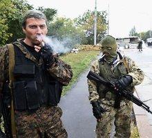 Donecko teroristų nelaisvėje – šimtai žmonių, kurie naudojami kaip gyvas skydas