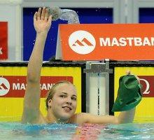 Rūta Meilutytė Singapūre pateko į vieną finalą iš dviejų