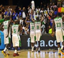 Senegalo krepšinio rinktinė netikėtai patiesė kroatus