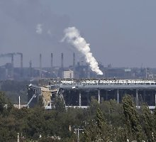 Donecko oro uoste įsiplieskė susirėmimai tarp Ukrainos vyriausybės pajėgų ir Rusijos karių