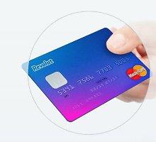 Bankų įkainių prispausti lietuviai žavisi nemokama britų startuolio mokėjimo kortele