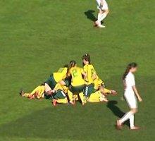 15-metė lietuvė Europos čempionate nustebino neįtikėtinu įvarčiu