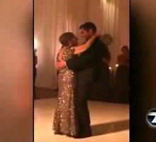 Jautri akimirka: likus 3 dienoms iki mirties motina per sūnaus vestuves dovanojo paskutinį šokį
