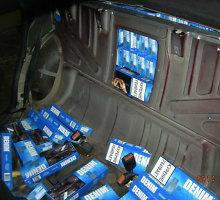 Kybartuose įkliuvo lenkai, vežę cigarečių už 63 tūkst. litų