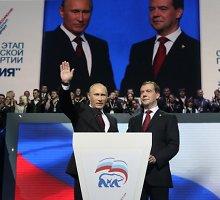 Rusijoje ruošiama politikų armija, kuri gins Vladimiro Putino sprendimus