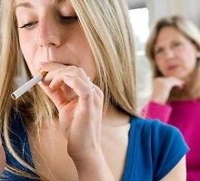Kaip islandai atgrasė vaikus nuo rūkymo