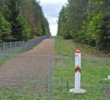 Laikinai sustabdytas pėsčiųjų judėjimas į Baltarusiją