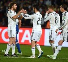 """Į FIFA klubų pasaulio taurės finalą žengė Madrido """"Real"""""""