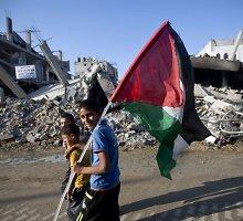 Po paliaubų paskelbimo Gazos Ruože įsivyravo ramybė