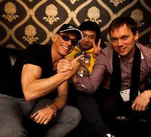 Jeanas Claude'as Van Damme'as iki paryčių šėlo Vilniaus naktiniuose klubuose