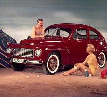 """Volvo PV444"" – ""mažajam Volvo"" sukanka 70 metų"