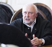 Mirė Eglę Kusaitę gynęs advokatas Kęstutis Juozas Stungys