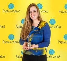 Lietuvių kalbos amerikietė Alicia mokėsi skaičiuodama žmonių linkčiojimus