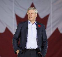 Kanados premjeras S.Harperis: nepaliksime Ukrainos, net jei reikės ir 50 metų