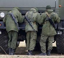 Donecko srityje Rusijos kariai paliko tris šimtus nukautų saviškių kūnų