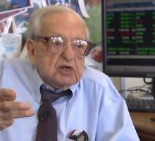 Investavimo veteranas 108 metų Irvingas Kahnas karjerą Volstrite pradėjo 1929-aisiais