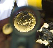 Kokį grynųjų pinigų rezervą reikia turėti verslininkams prieš euro įvedimą?
