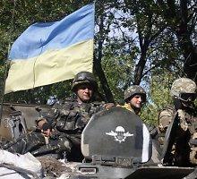 Lietuvos visuomenininkų humanitarinė parama pasiekė Ukrainos karius