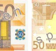 Dauguma padirbtų pinigų – 50 eurų vertės banknotai
