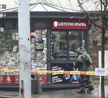 Vilniuje prie policijos nuovados išminavimo operacija truko 2 val.: 5 kg tritano bombos nėra