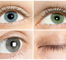 Santykių suderinamumas pagal akių spalvą