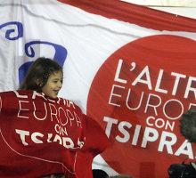 Išlaidauti pasiryžusi Graikija – šalis su 317 mlrd. eurų skolos kupra