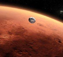 """Pro Marsą praskriejus kometai """"Siding Spring"""" NASA zondai kol kas nenukentėjo"""