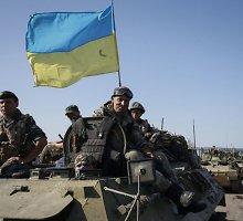 Iš teroristų nelaisvės išlaisvinti 35 ukrainiečių kariai