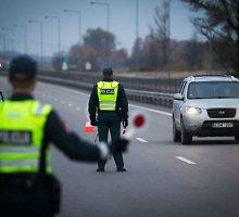Vien savaitgalį Vilniaus policijai įkliuvo 22 girti vairuotojai