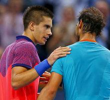 Rafaelis Nadalis sensacingai pralaimėjo 17-mečiui kroatui Bornai Coričiui