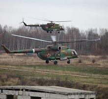 VSAT apdovanojo pareigūnus, kurie pastebėjo į Lietuvą įskridusius rusų sraigtasparnius
