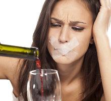 Alkoholio poveikis: kas blaiviam galvoj, girtam ant liežuvio?